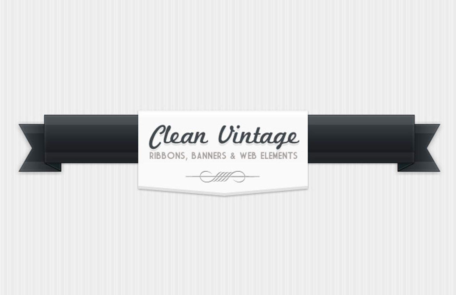 Clean  Vintage  Elements  Preview1