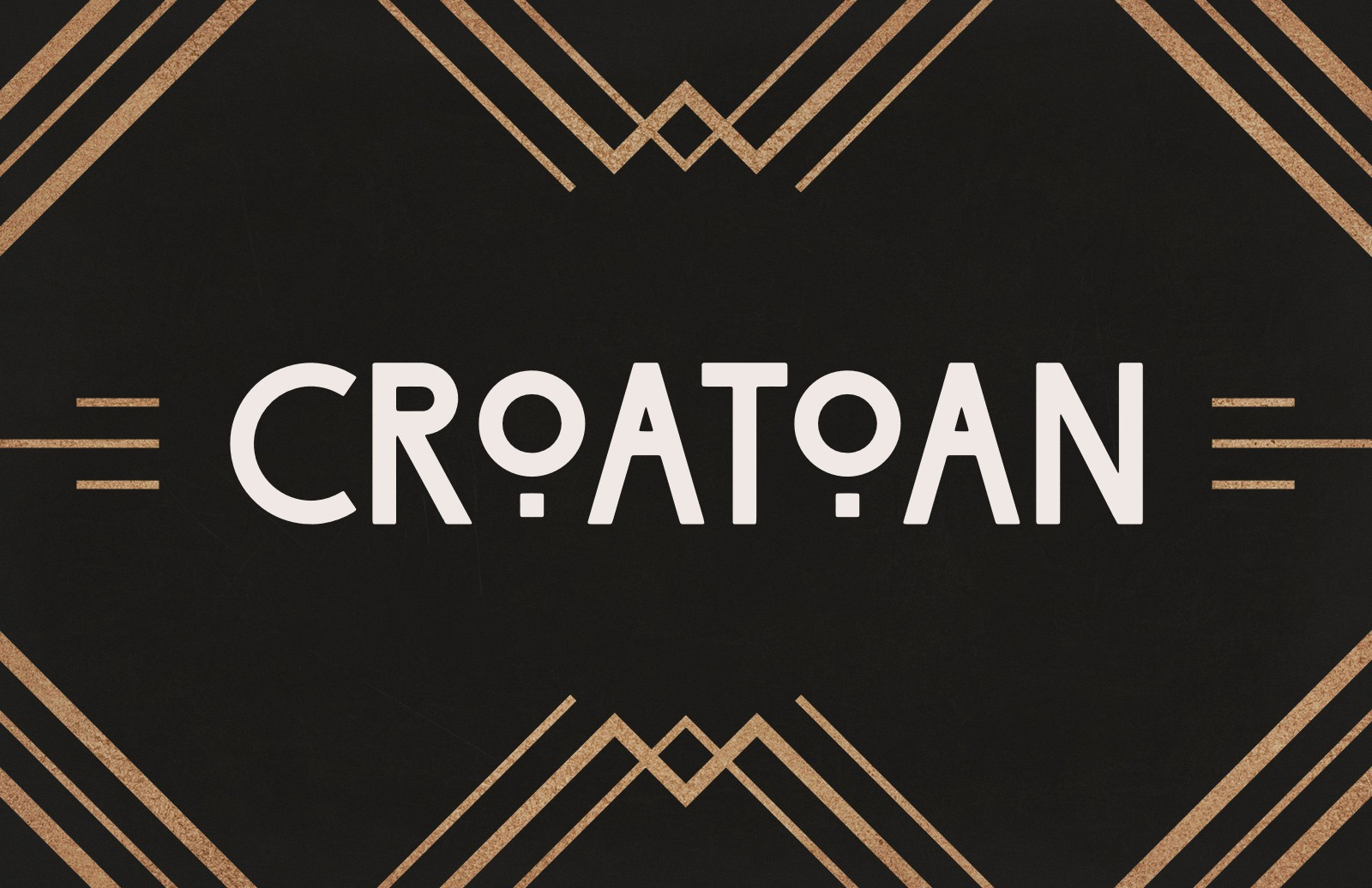 Croatoan Font Preview 1
