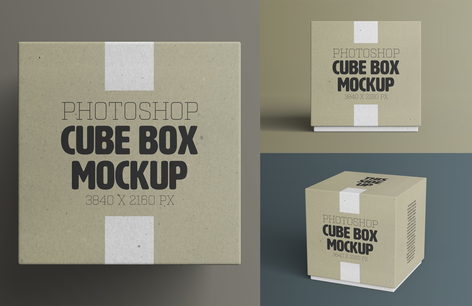 Cube Box Mockup Preview 1