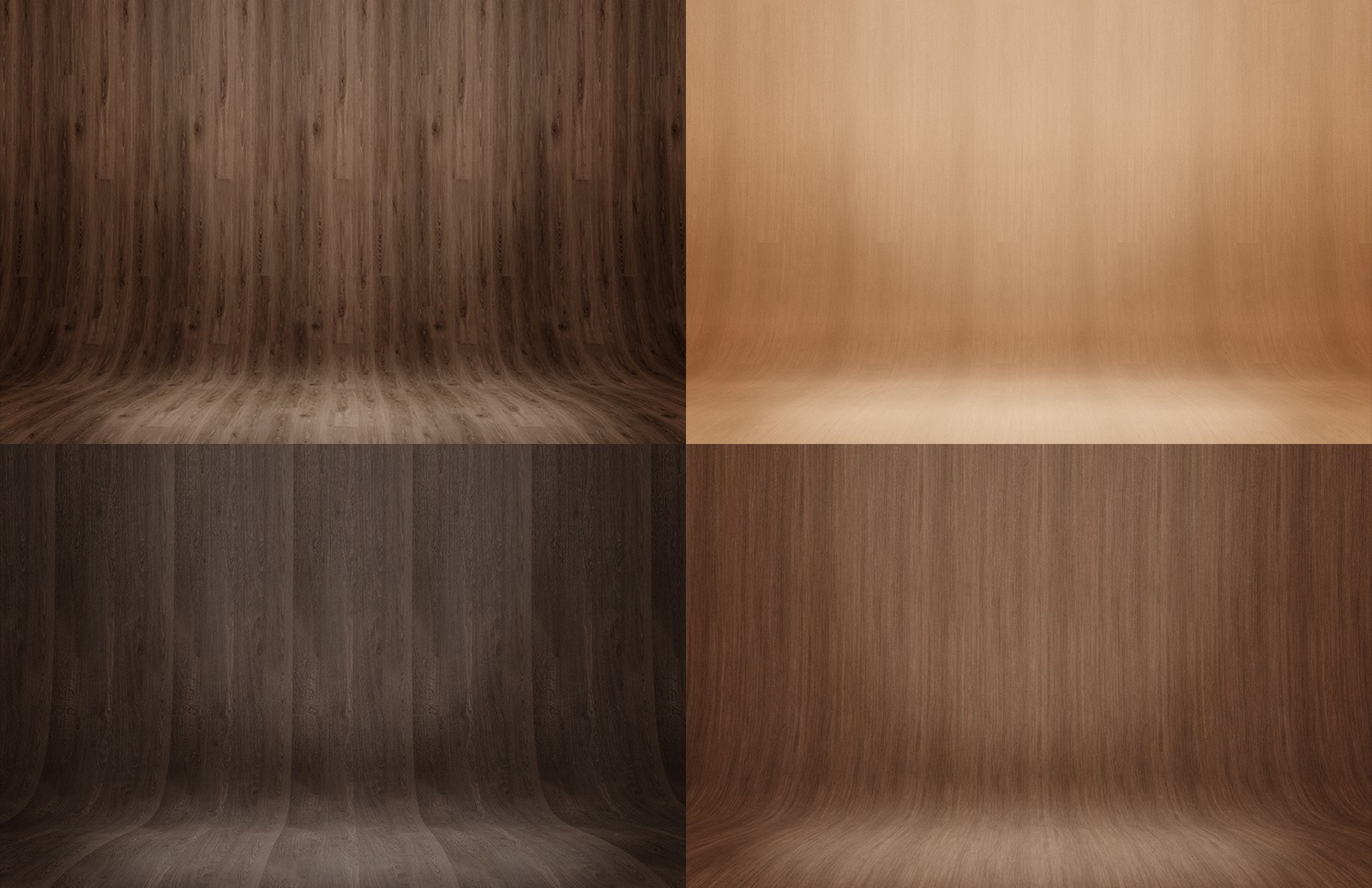 Curved Wood Presentation Backgrounds 2