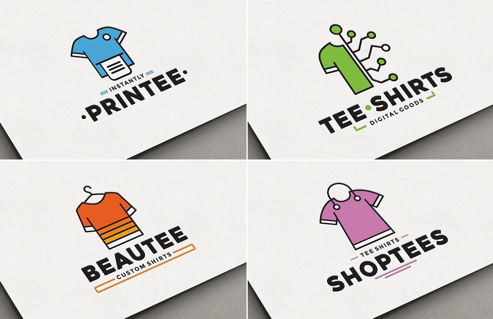 Custom T Shirt Logo Pack
