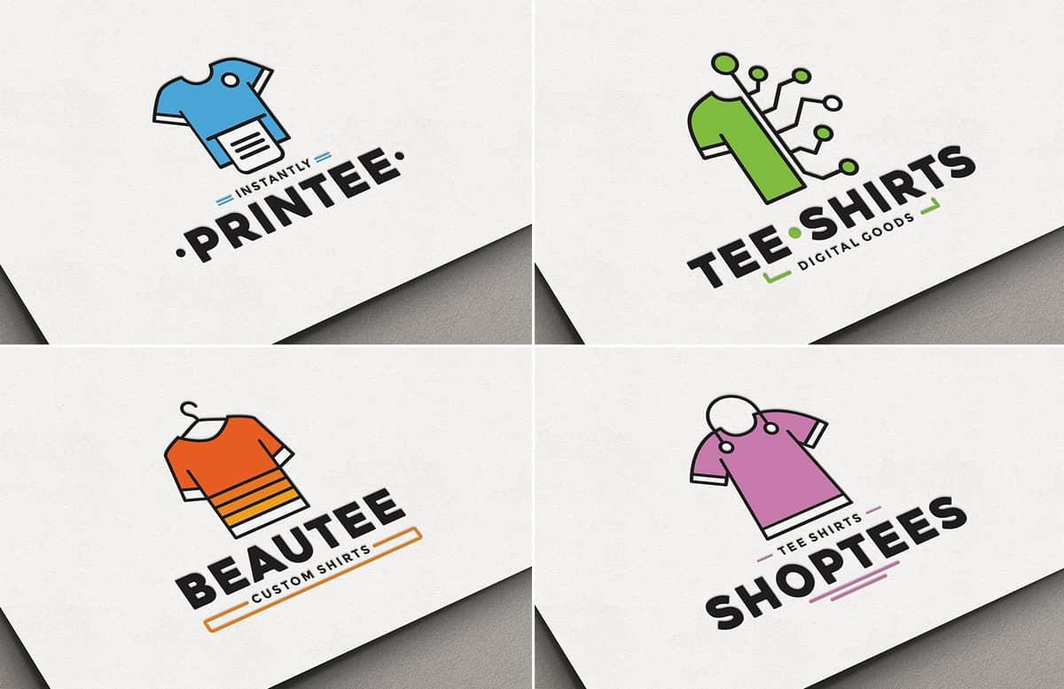 Custom T Shirt Logo Pack Preview 1