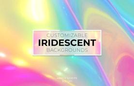 Customizable Iridescent Backgrounds
