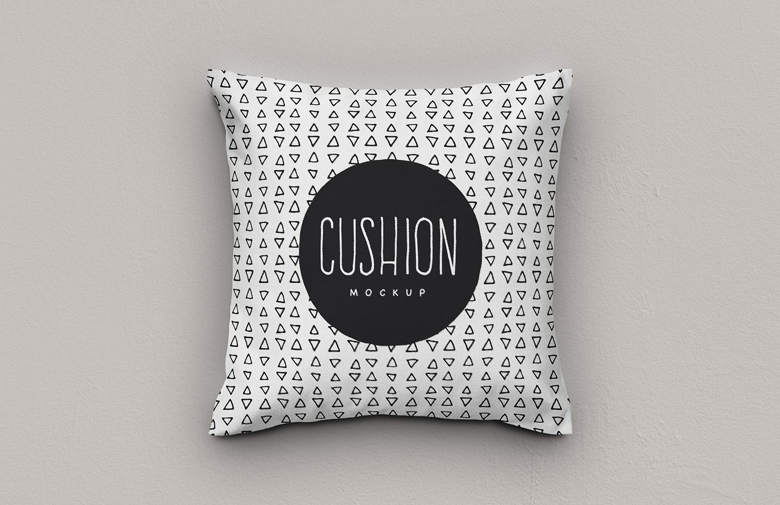 Cushion Photoshop Mockup