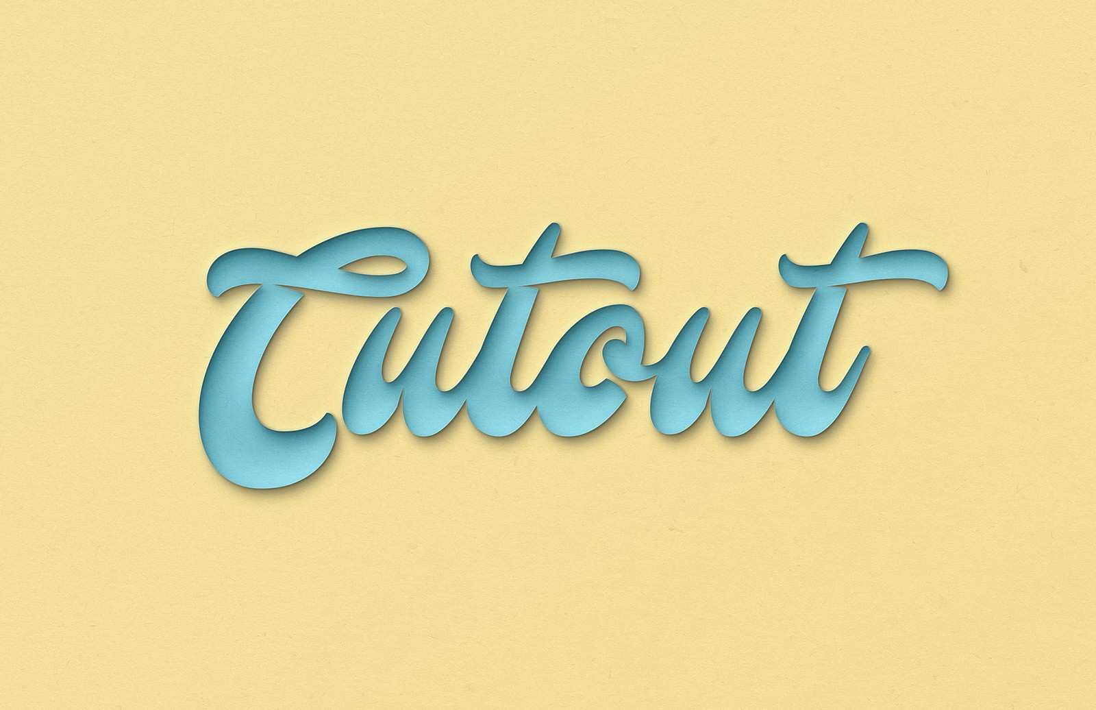 Cutout Effect for Photoshop