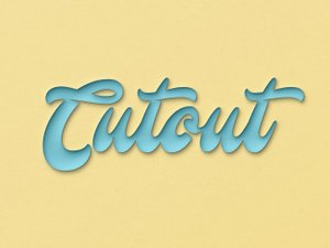 Cutout Effect for Photoshop 1
