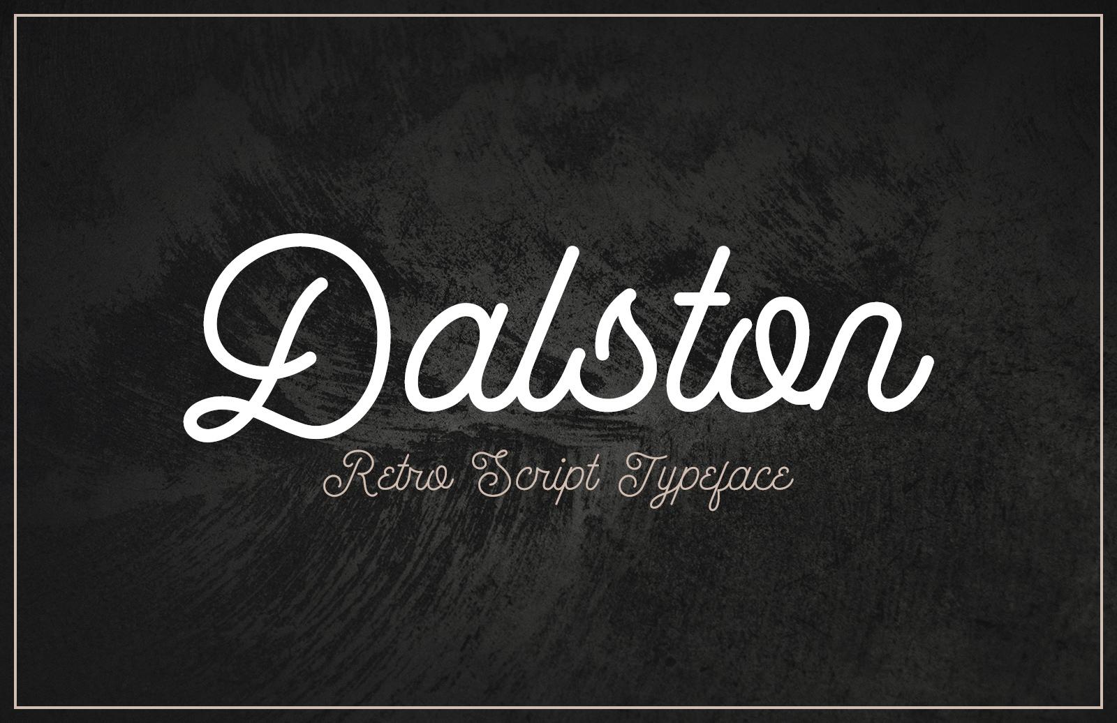 Dalston Retro Script Font Preview 2 1