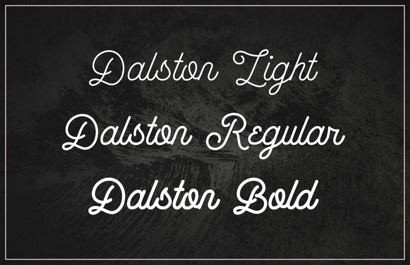 Dalston - Retro Script Font (Updated)