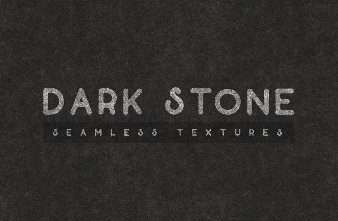 Dark Stone Seamless Textures