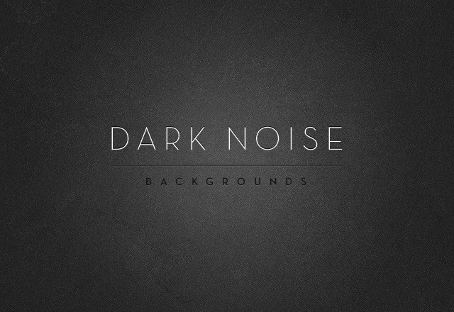 Dark Noise Backgrounds