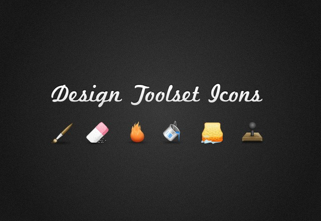 Design Toolset Icons