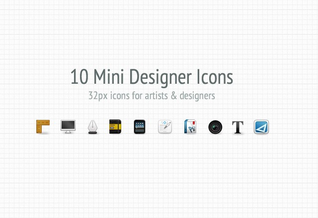 10 Mini Designer Icons