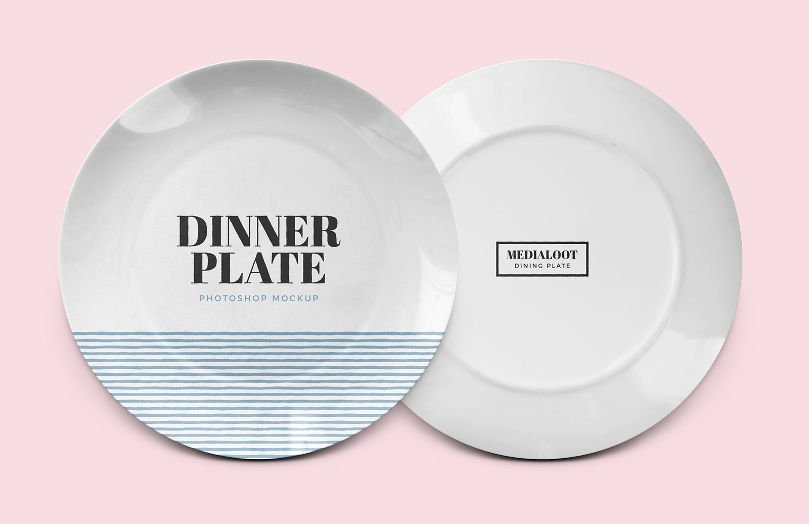 Dinner Plate Mockup for Photoshop