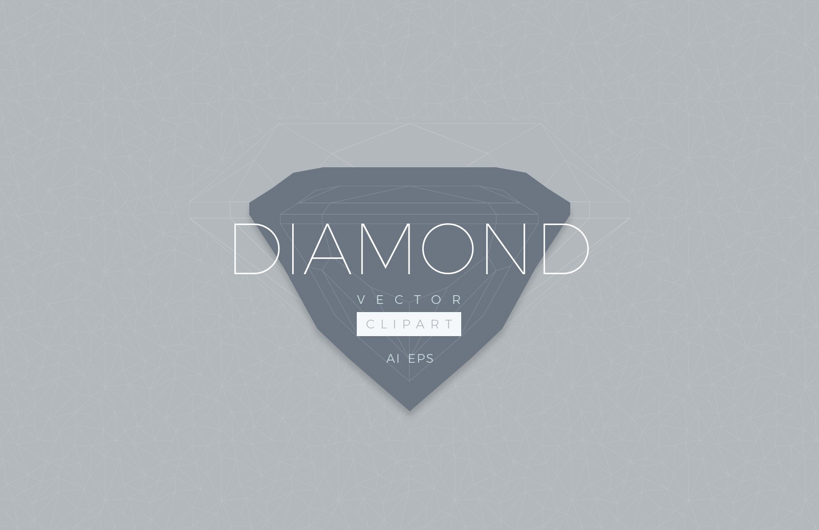 Diamond Vector Clipart