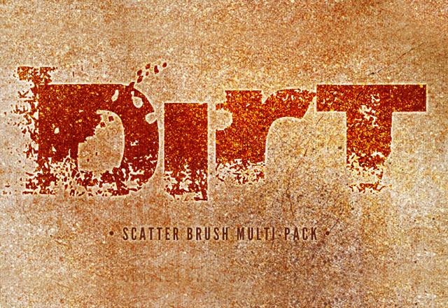 Dirt - Scatter Brush Multi Pack