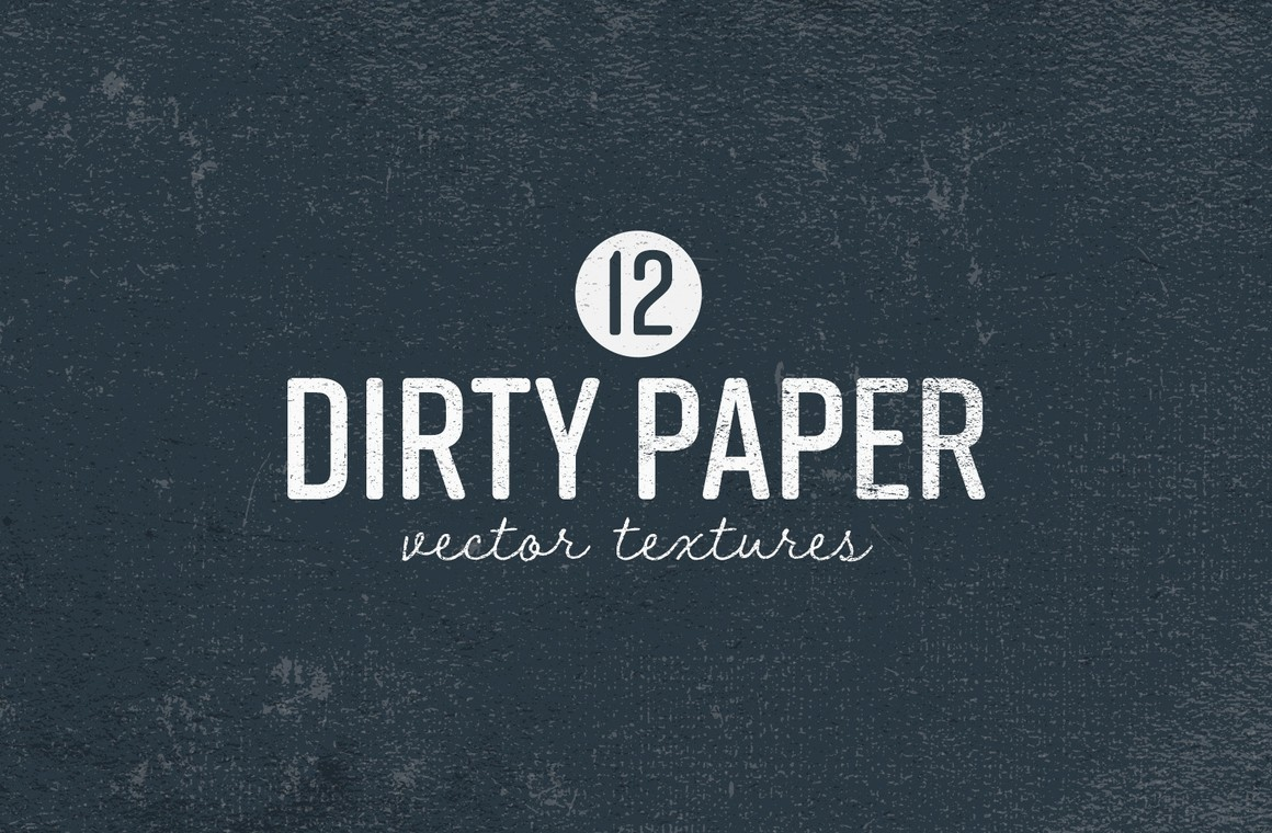 Dirty Paper Vector Textures