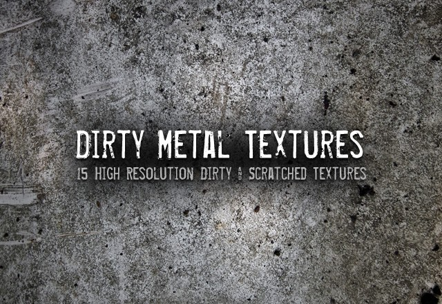 Dirty Metal Textures