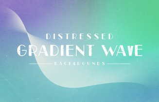 Distressed Gradient Wave Backgrounds