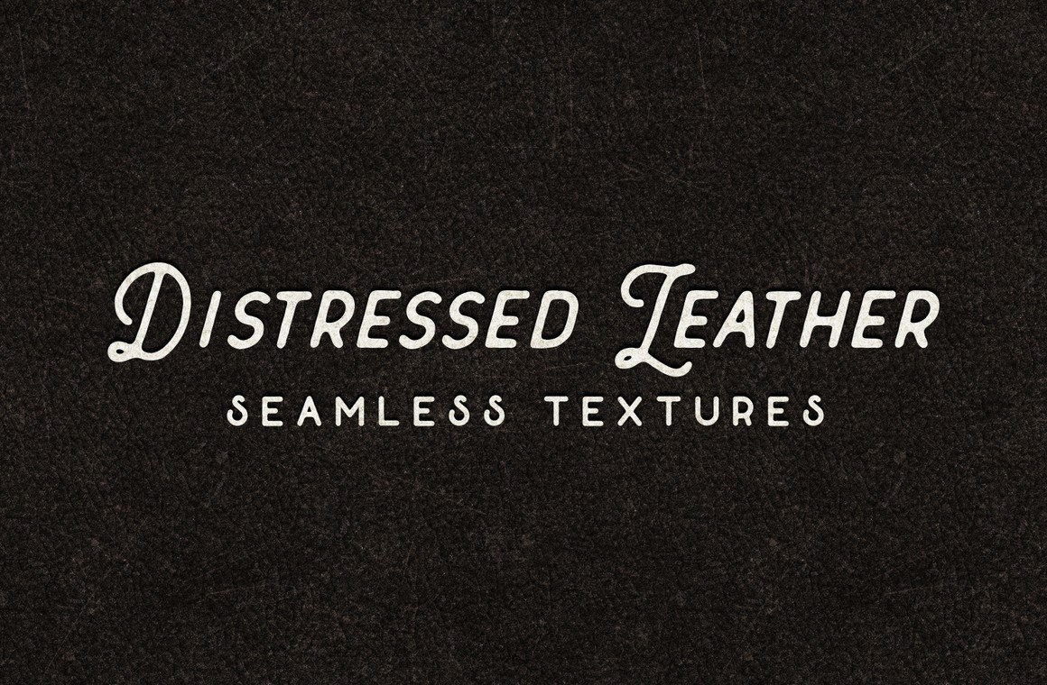 Distressed Leather Seamless Textures
