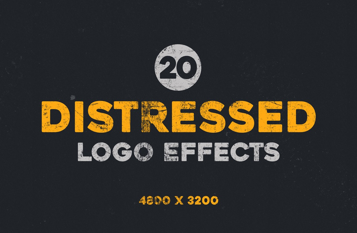 Distressed Logo Effects