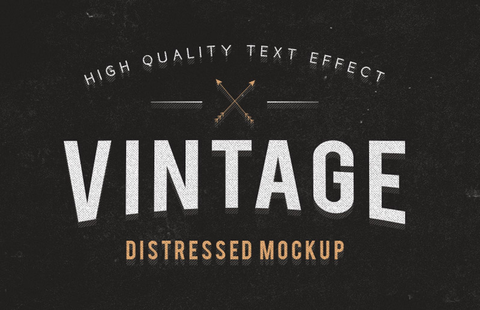 Distressed  Text  Effect  Preview 1
