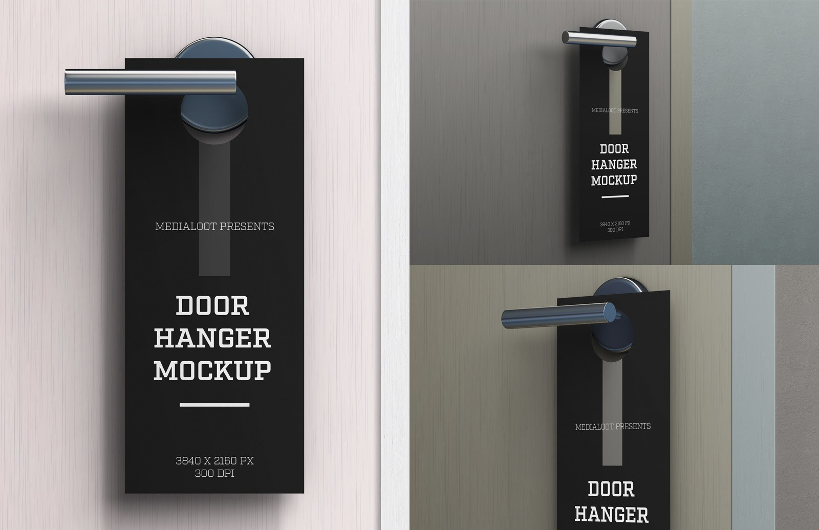 Door Hanger Mockup Preview 1