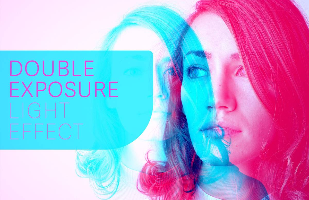 Double Exposure Light Effect Preview 1