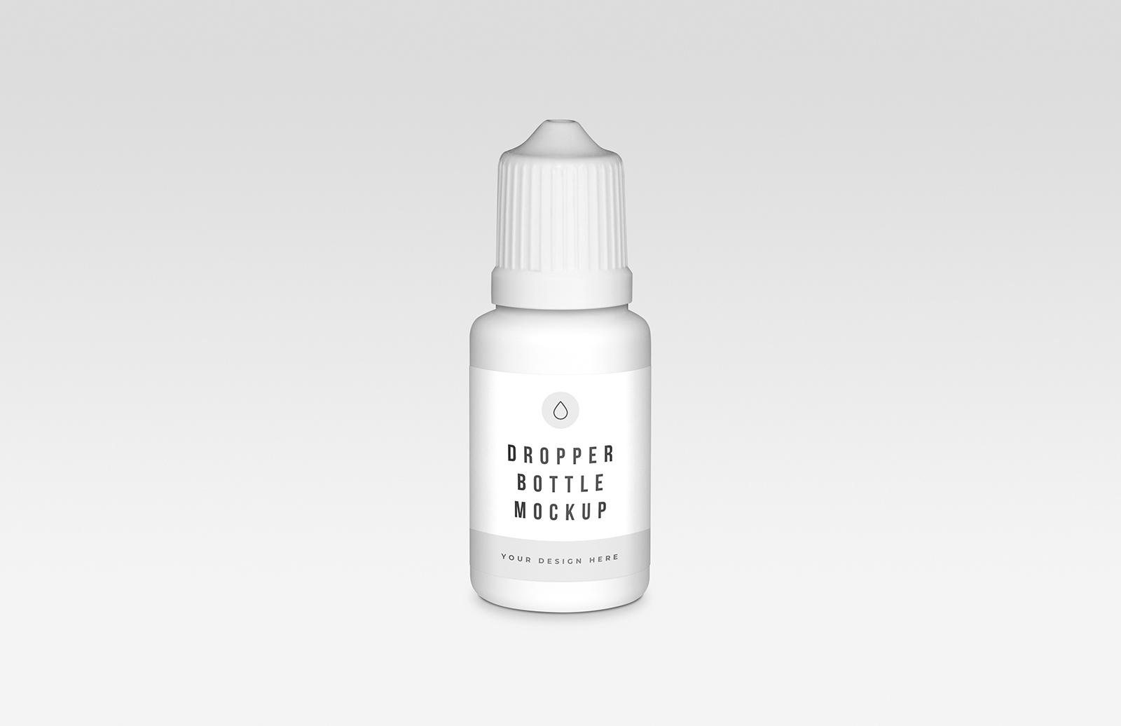 Dropper Bottle Mockup Preview 1B
