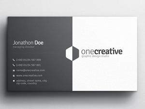 Duo Business Card Design 1