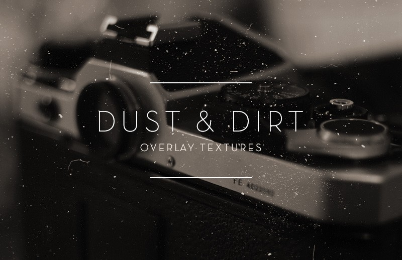 Dust & Dirt Overlay Textures