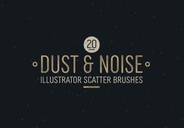 Dust & Noise Illustrator Scatter Brushes