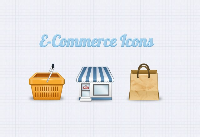 Large E  Commerce  Icons  Preview1
