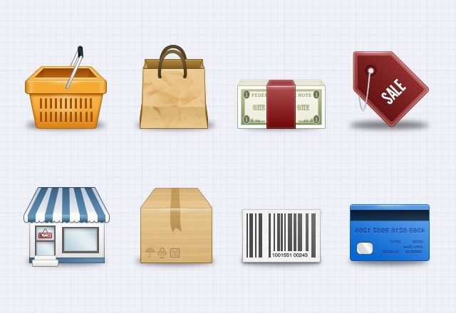 Large E  Commerce  Icons  Preview2