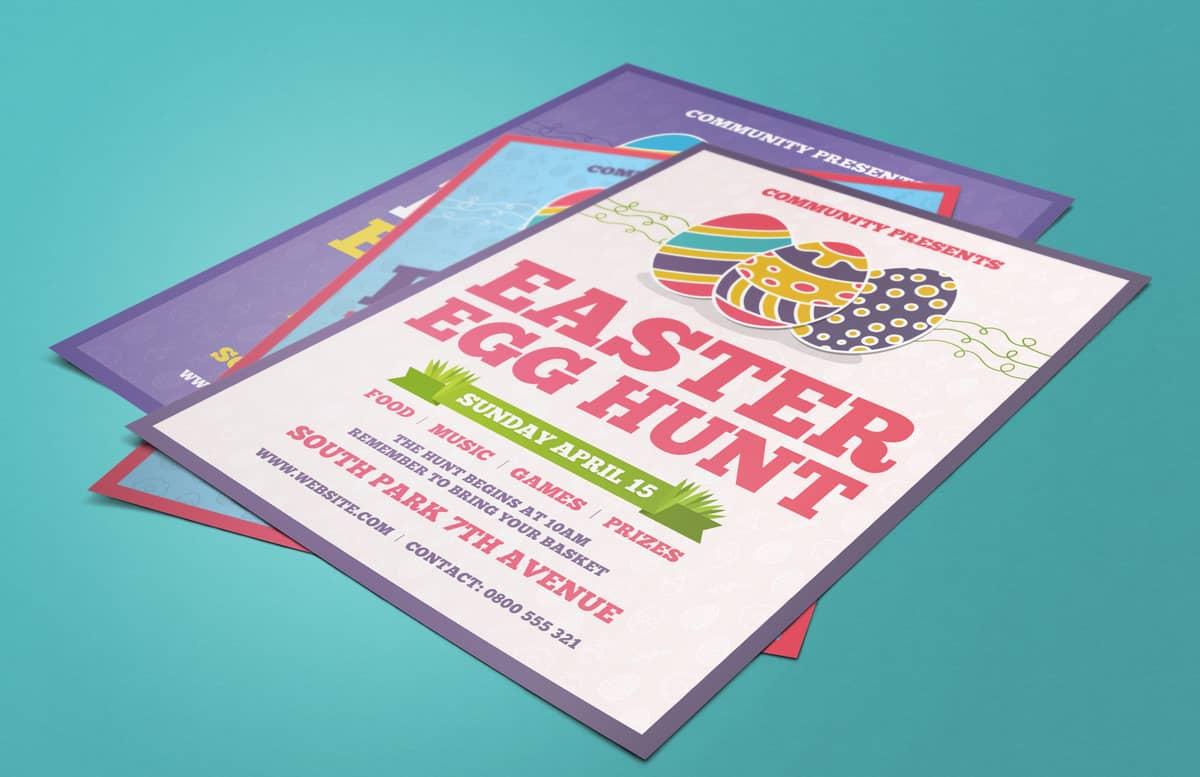 Easter Egg Hunt Flyer Preview 2