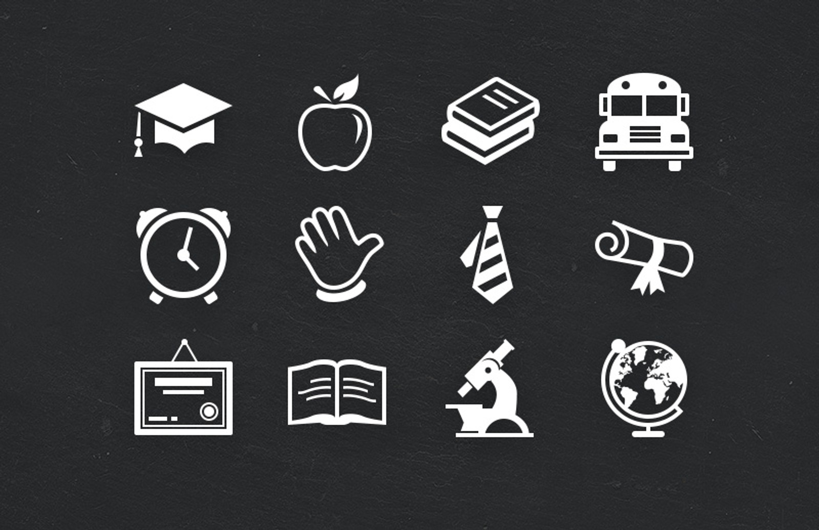Educate  Icon  Set 2  Preview 1A