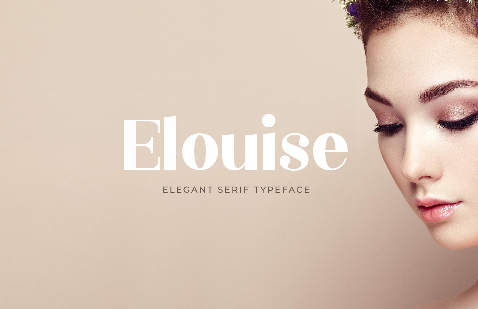 Elouise - Elegant Serif Font