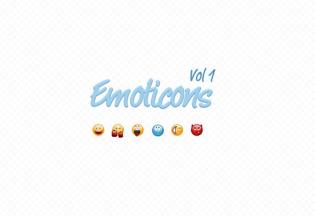 Emoticons Vol 1