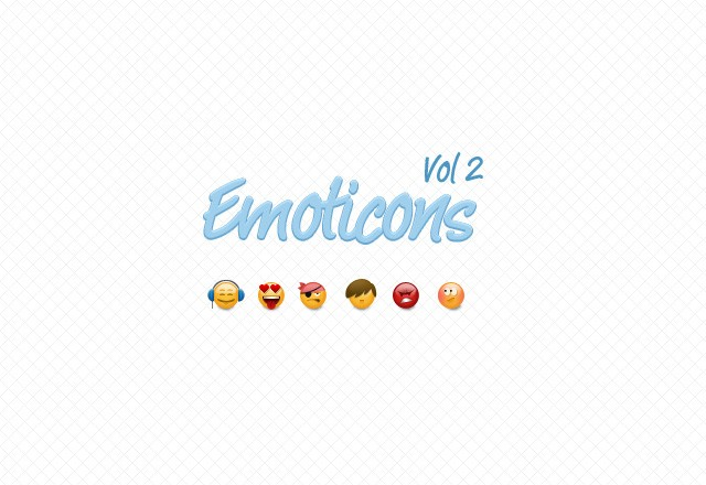 Emoticons Vol 2