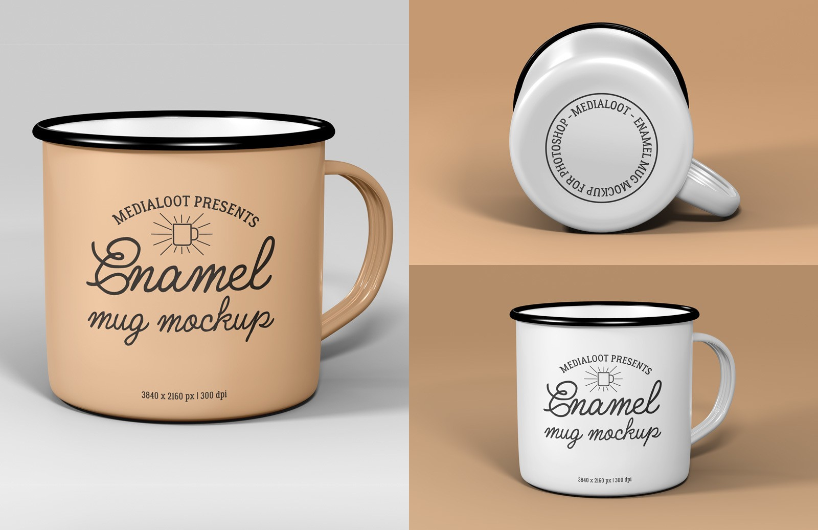 Enamel Mug Mockup Preview 1