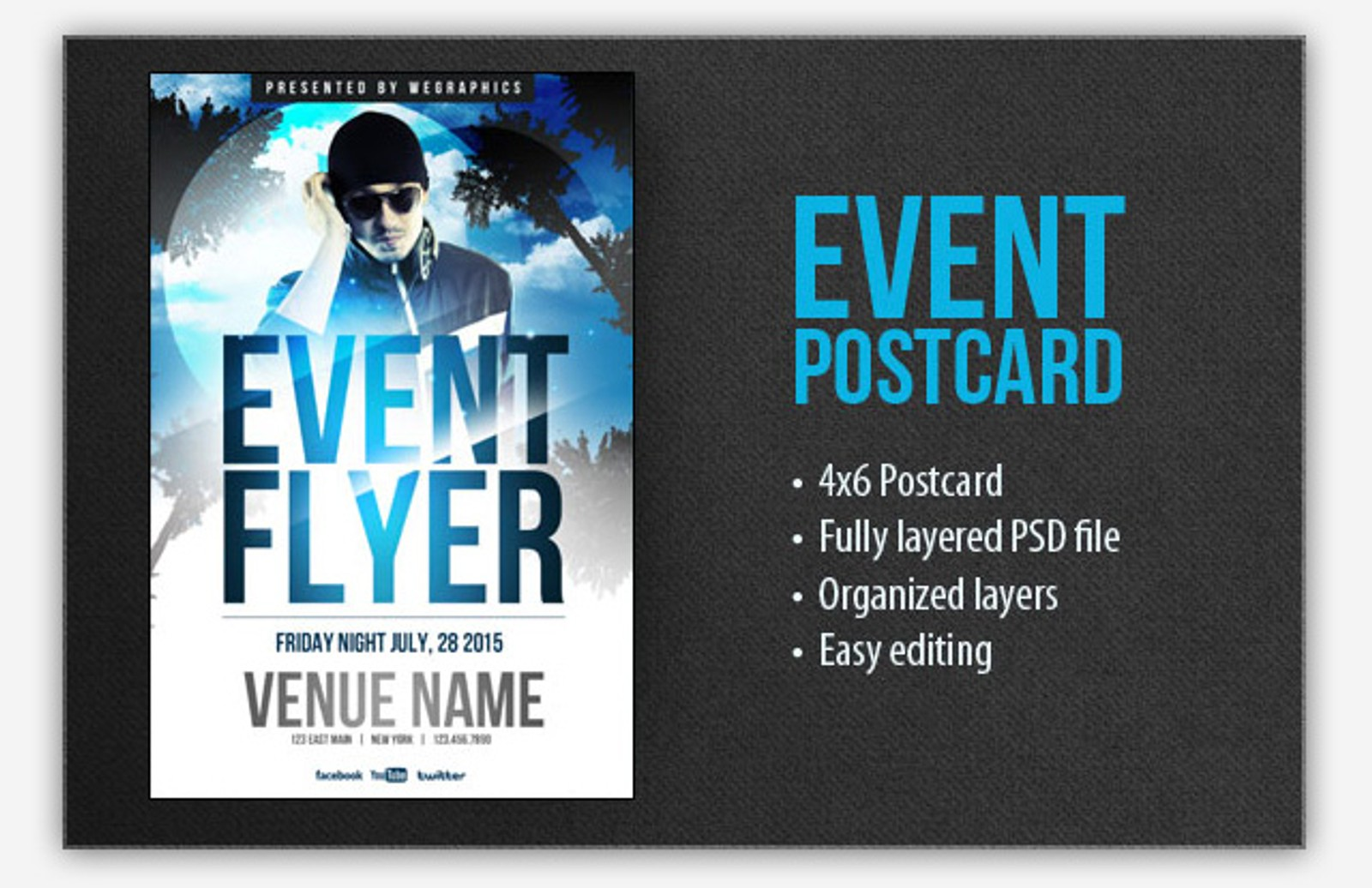 Event  Postcard  Flyer  Preview2
