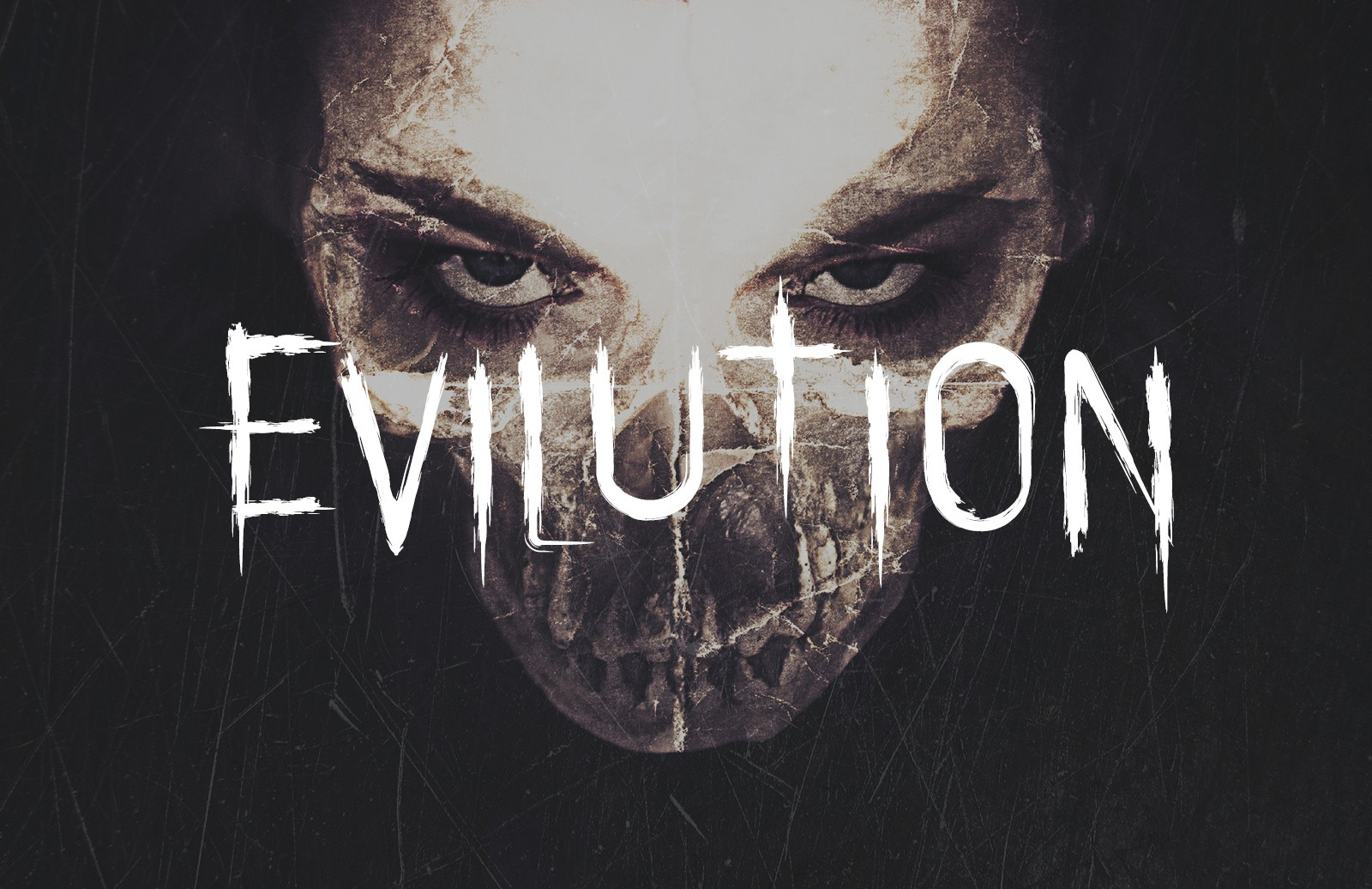 Large Evilution  Distressed  Horror  Typeface  Preview 1A