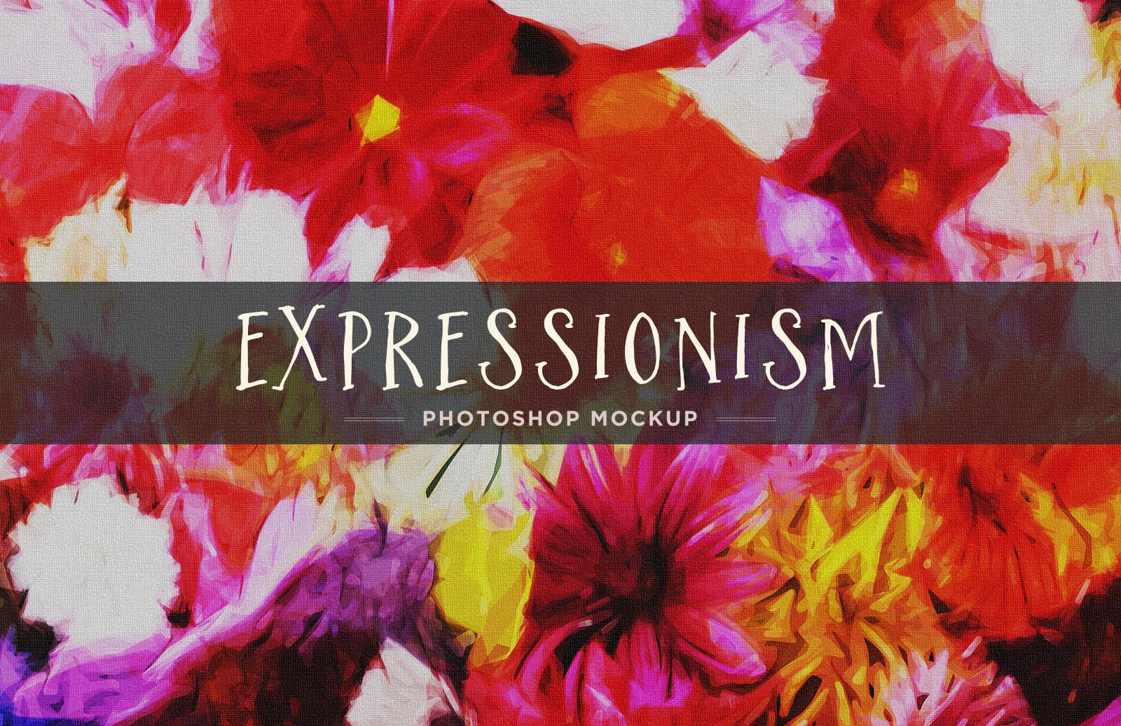 Expressionism - Photoshop Mockup 1