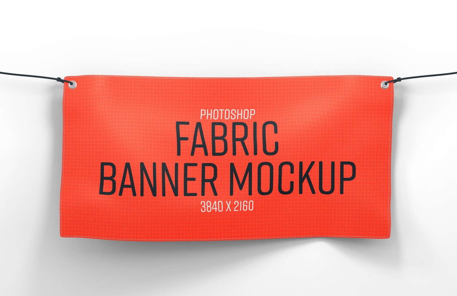 Fabric Banner Mockup Preview 1