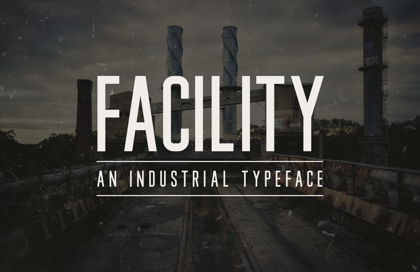 Facility - Industrial Font