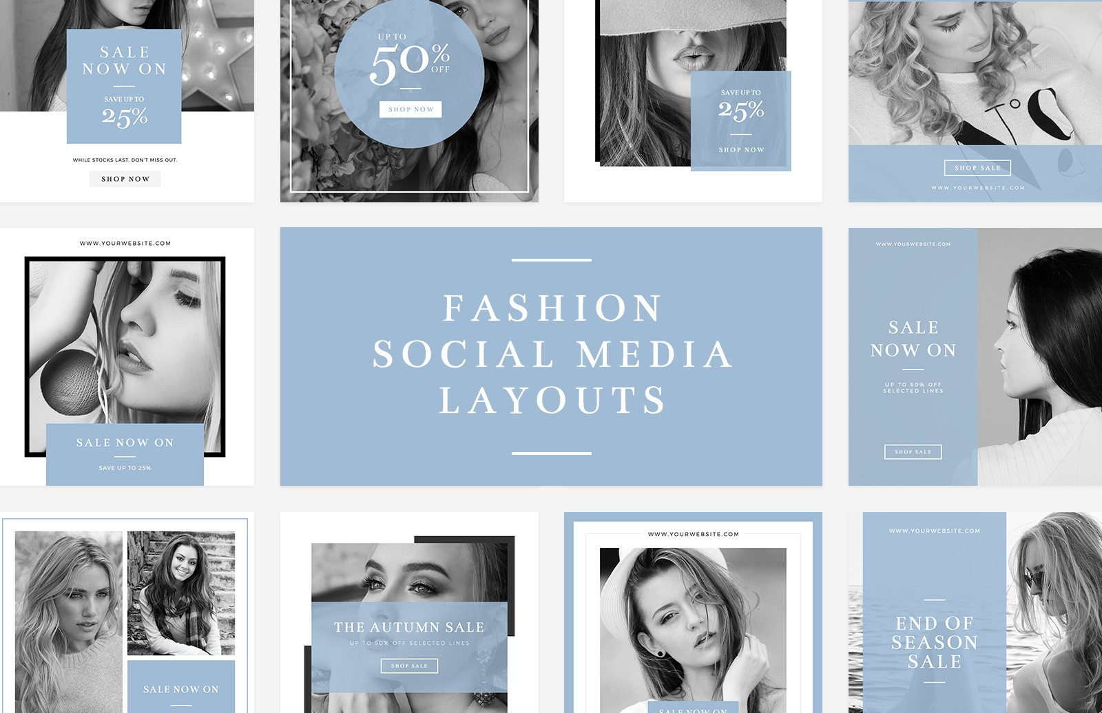 Fashion Social Media Layouts