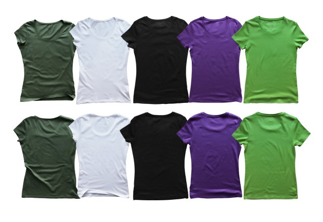 Large Female  Shirt  Templates  Preview2