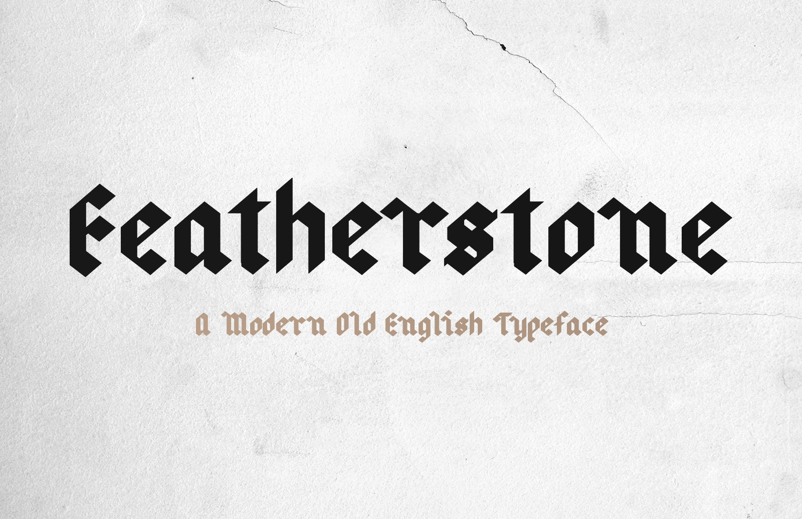 Featherstone Old English Font Preview 2 1