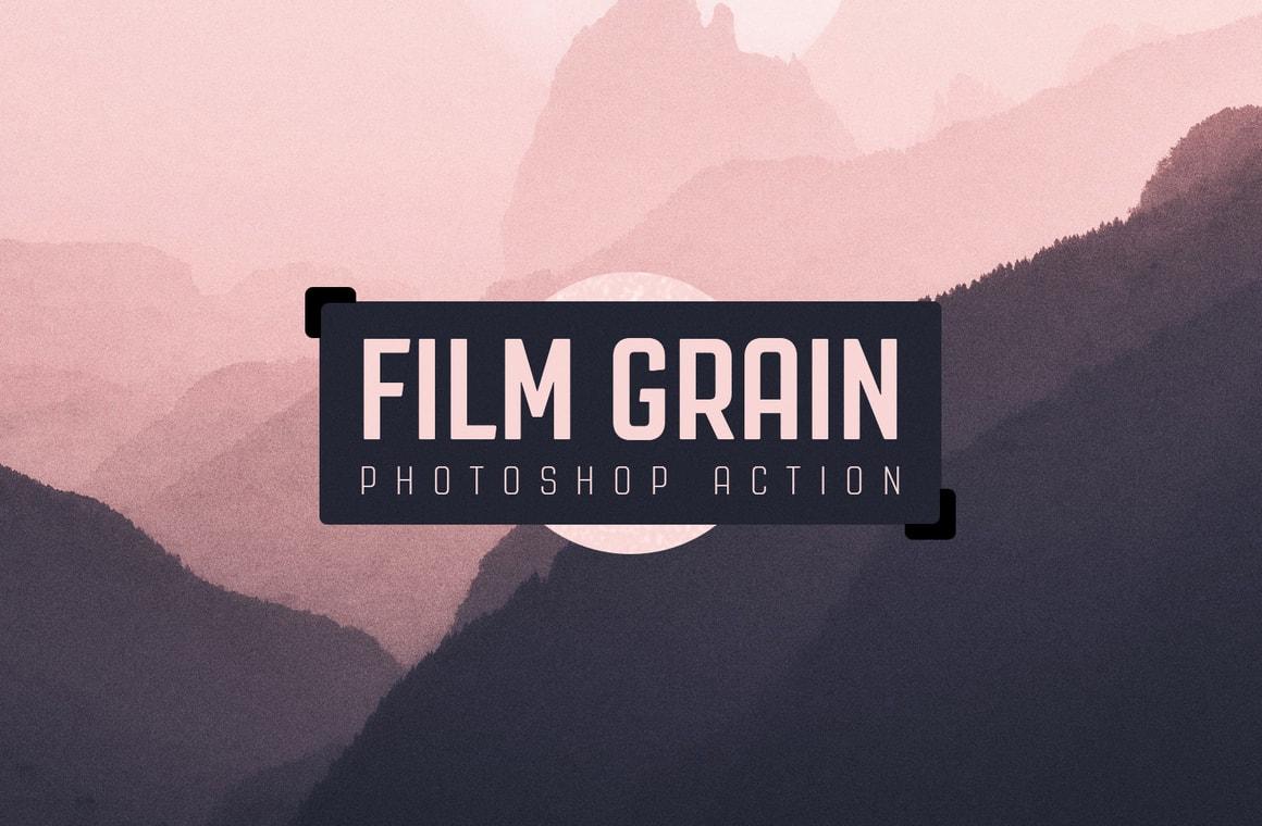 Film Grain Photoshop Action