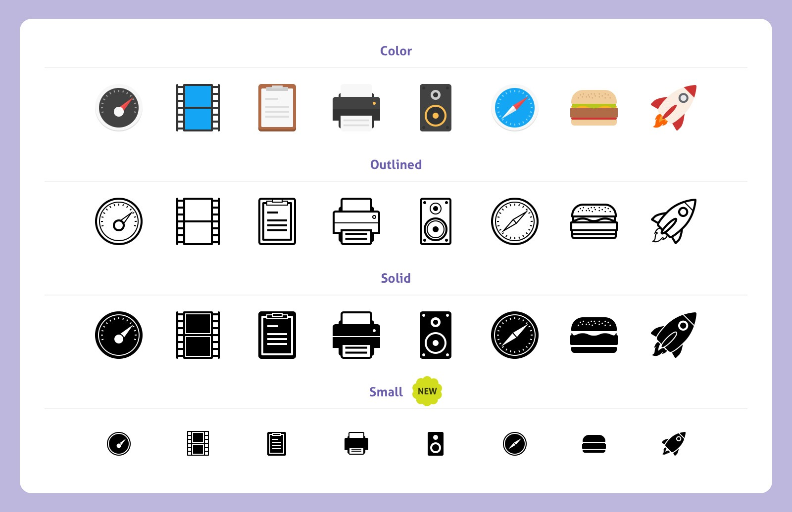 Large Filo  Vector  Icons 4  Preview 2A