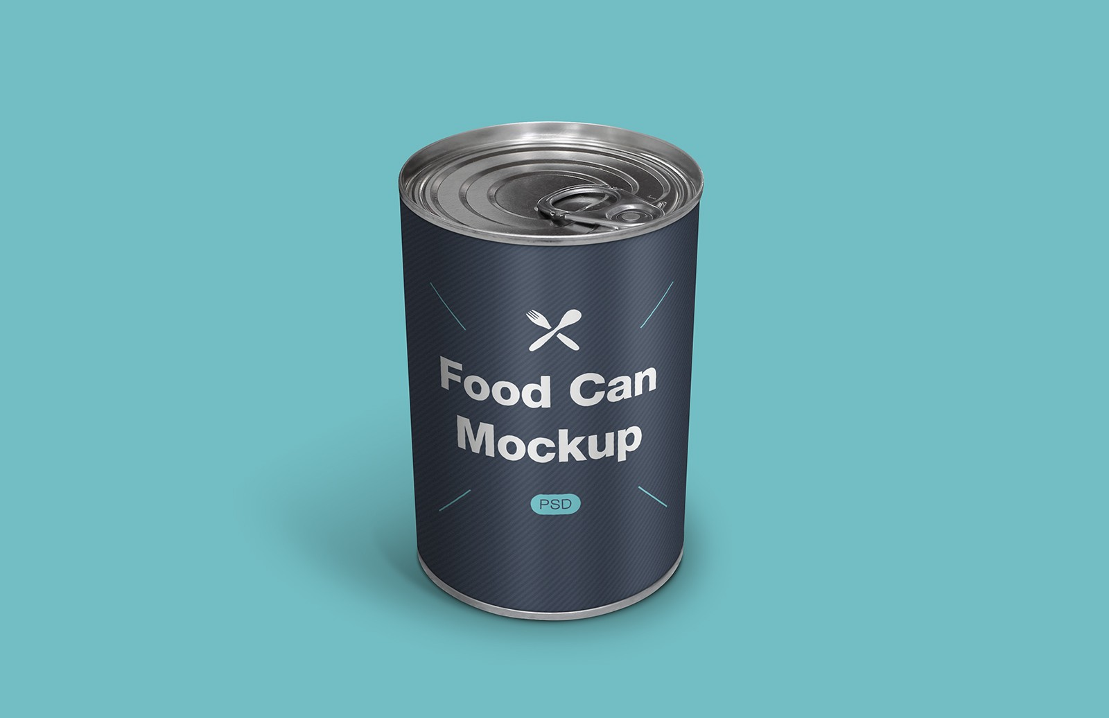 Food Can Psd Mockup Preview 1
